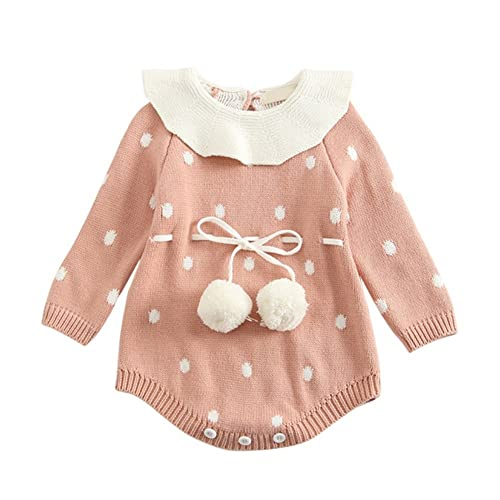 Back To Search Resultsmother & Kids Bodysuits & One-pieces Baby Knitted Sweater Romper 0-18 Months Solid Color Thick Cotton O-neck Autumn Winter Infant Boy Girl Baby Clothing Easy To Repair