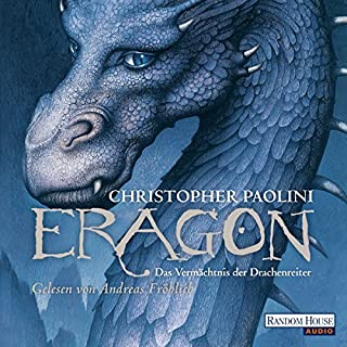 Das Vermächtnis der Drachenreiter [German edition]     Eragon 1              By:                                                                                                                                 Christopher Paolini                               Narrated by:                                                                                                                                 Andreas Fröhlich                      Length: 21 hrs and 23 mins     31 ratings     Overall 4.7