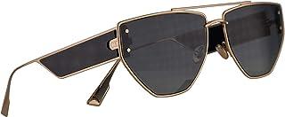 38b3a7cc0d Christian Dior DiorClan2 Gafas De Sol Negra Y Doradas Con lentes Gris 61mm  J5G1I Clan 2