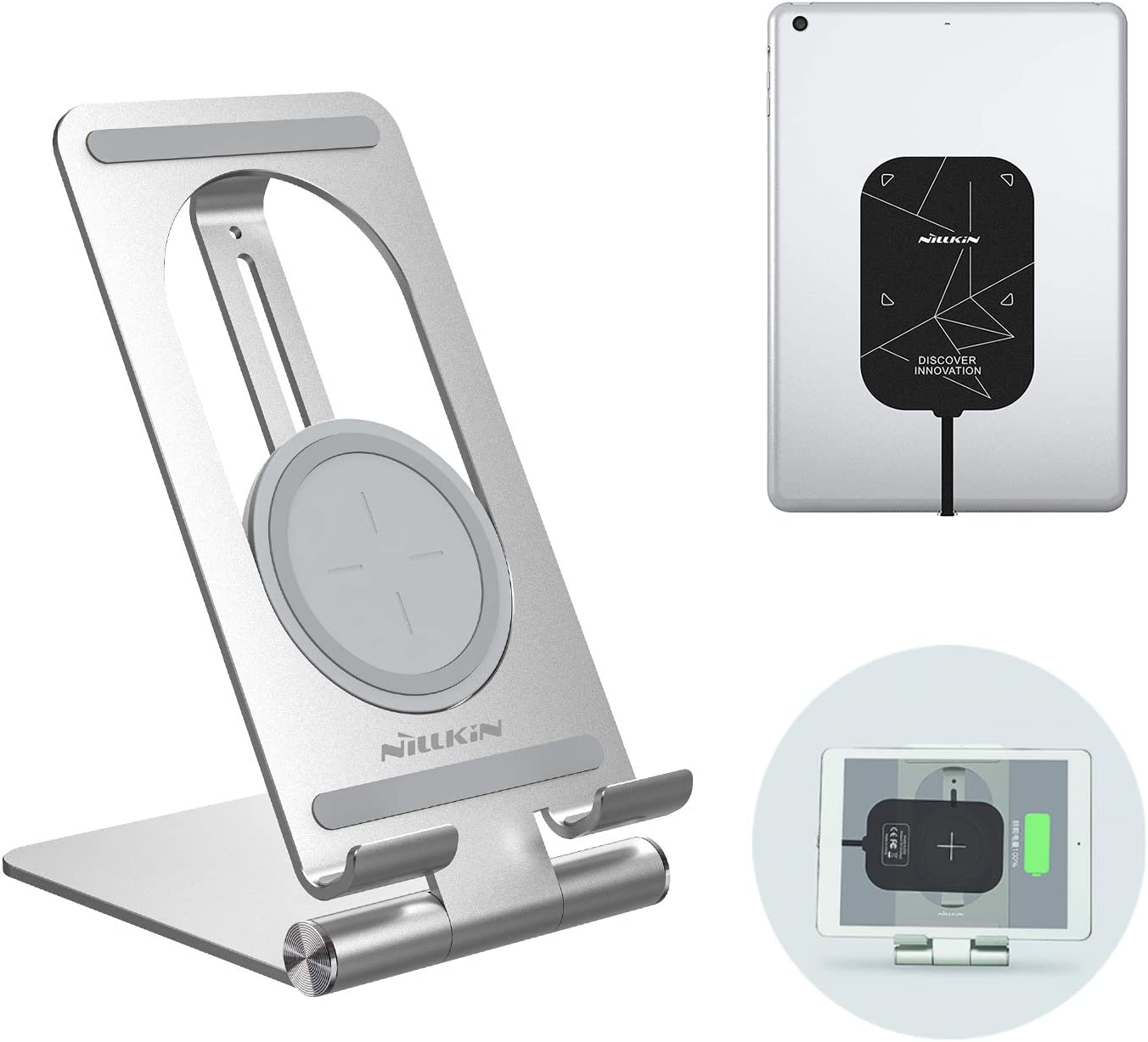 shopping Nillkin ipad Wireless Charger Receiver Charging with 2 Dallas Mall