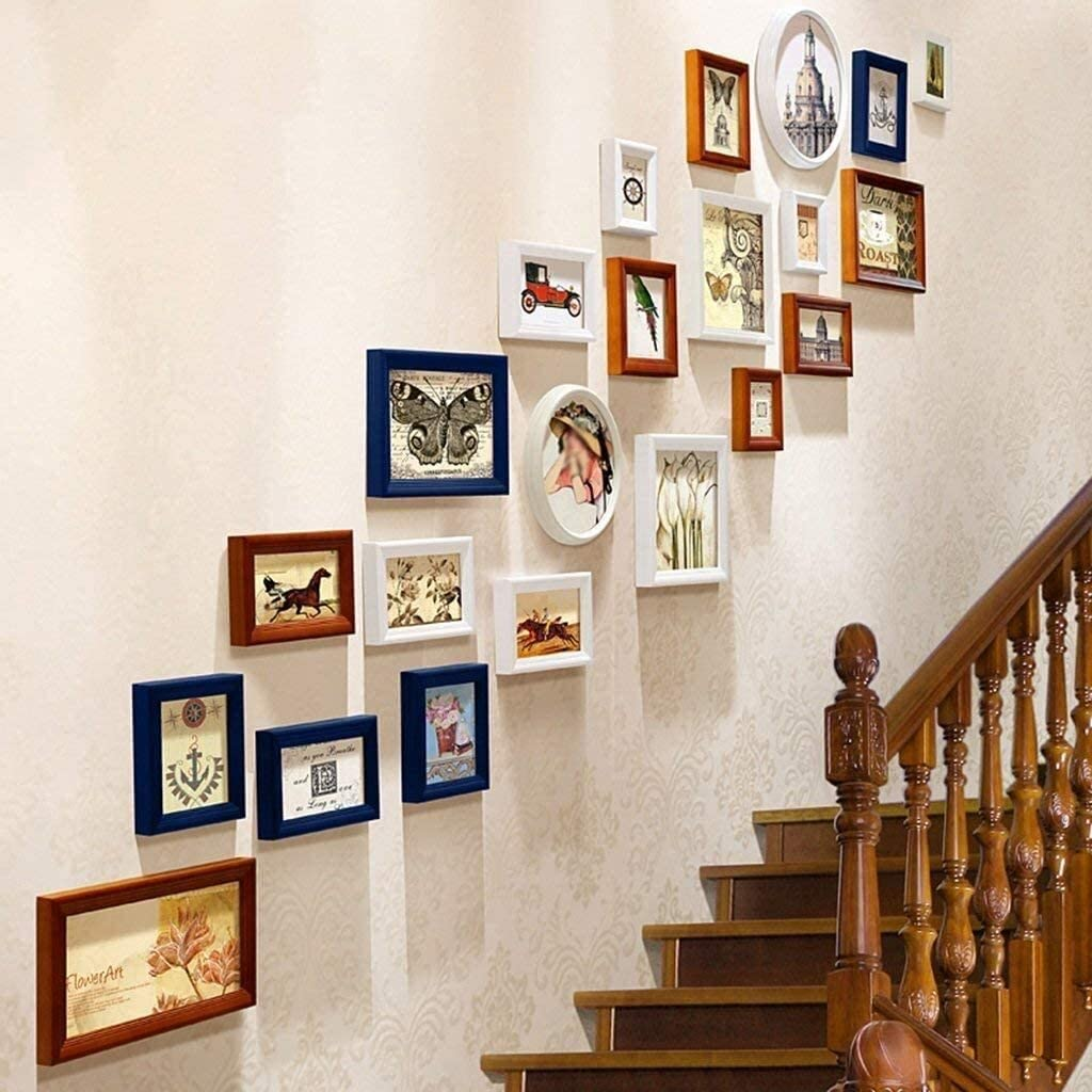 COLOM Limited time trial price Photo Frame Collage Set-Wall- Set Super sale period limited Picture Wood