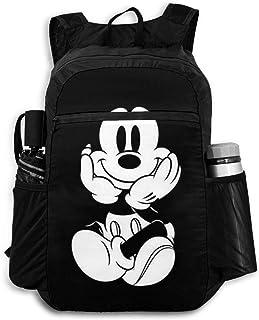 Mickey Minnie Smile (3) Mochila de viaje plegable mochila escolar bolsa de viaje mochila de viaje para hombres, mujeres y adolescentes