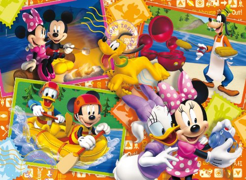 27794.0 Mickey Mouse Club House: Postcards   Puzzle (104 Piezas)