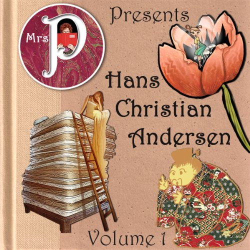 Mrs. P Presents Hans Christian Andersen, Volume 1 audiobook cover art