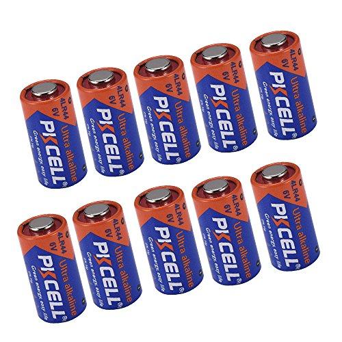 4LR44 A544 476A L1325 PX28A 4G13 6V Alkaline Foto Battery für Hundehalsband 10 Stück