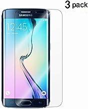 Galaxy S6 Edge Screen Protector[Not Glass],TANTEK [Anti-Bubble] [HD Ultra Clear] TPU Film Curved Edge to Edge Screen Prote...
