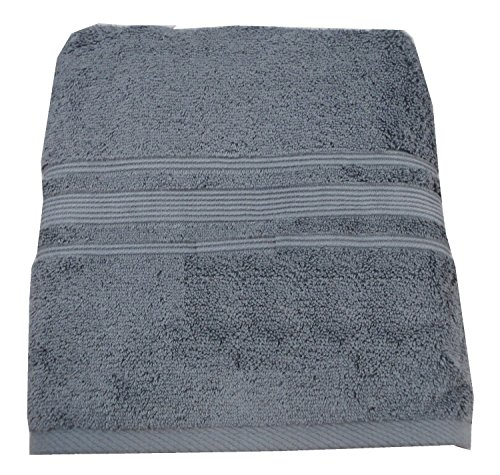 Charisma Bath Towel - 100% Hygro Cotton, Grey