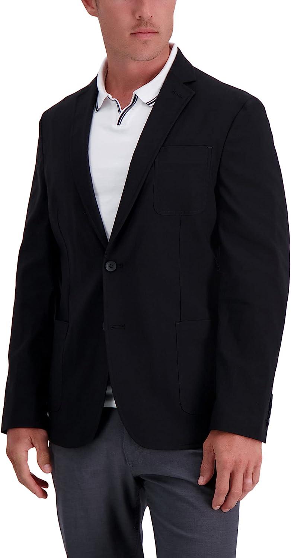 Haggar Men's Smart Wash Performance Tech Blazer Tailored Fit