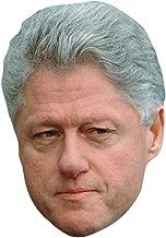 Bill Clinton Celebrity Mask, Card Face and Fancy Dress Mask