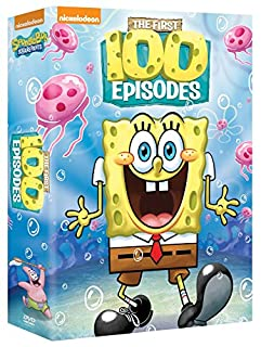 SpongeBob SquarePants First 100 Episodes (B06XX8H8JN) | Amazon price tracker / tracking, Amazon price history charts, Amazon price watches, Amazon price drop alerts