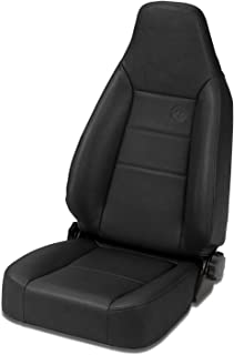 Bestop 3943415 Black Denim Trailmax II Sport Seat - Jeep 1976-2006 CJ7 & Wrangler