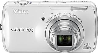 Nikon デジタルカメラ COOLPIX S800c Android搭載 光学10倍ズーム ホワイト S800CWH