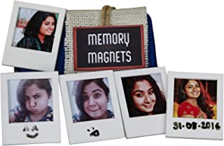 Oye Happy - Personalised Photo Fridge Magnets - Best Customized Magnet for Your Girlfriend/Boyfriend/Wife/Husband to Gift ...