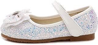 通用 HB Girls Princess Ballet Shoes Plat Glitter Dress for Pretty Girl