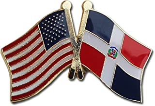 dominican republic flag pin