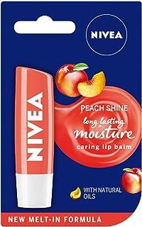 NIVEA PEACH SHINE - Caring Lip Balm