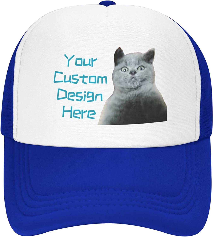 Oakazer Personalized Mesh Trucker Hats Customized Dad Hats for Men Women Customize Snapback Baseball Caps Trucker Cap