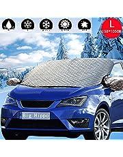 車 凍結防止カバー カーフロントカバー 車 凍結防止カバー 車種汎用 車 カバー 裏起毛 S*M*Lサイズ