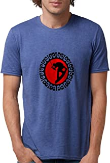 CafePress - WAKEBOARD T-Shirt - Mens Tri-blend T-Shirt