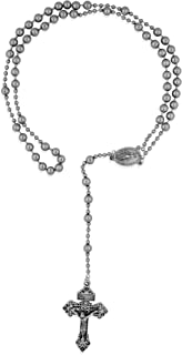 Venerare Soldier of God Military Rosary (Silver Tone)