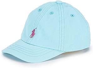 Ralph Lauren Baby Boy/Girl Cotton Chino Baseball Cap Light Blue 3Month/9Month