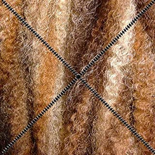 Dreadlock Foundation Fiber for Braids, Twists and Dreadlock Hair Extensions - Chestnut/Caramel/Platinum Blonde Mix M6/27/613