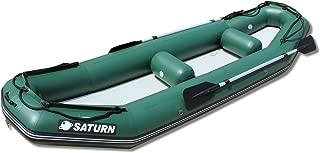 Saturn 12 ft Light River Raft / Ducky Boat - Green