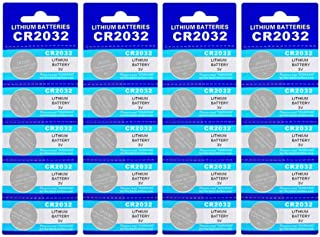 20 Pack CR2032 Battery 210mAh 3 Volt Lithium Battery Coin Button Cell 2023