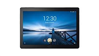 Lenovo Tab P10 (TB-X705L), 10.1 inch Tablet, Qualcomm Snapdragon 450 Processor, 4GB RAM, 64GB Storage, WiFi+4G LTE - Voice Call - Single Nano-Sim, Android OS, Aurora Black - [ZA450057AE]