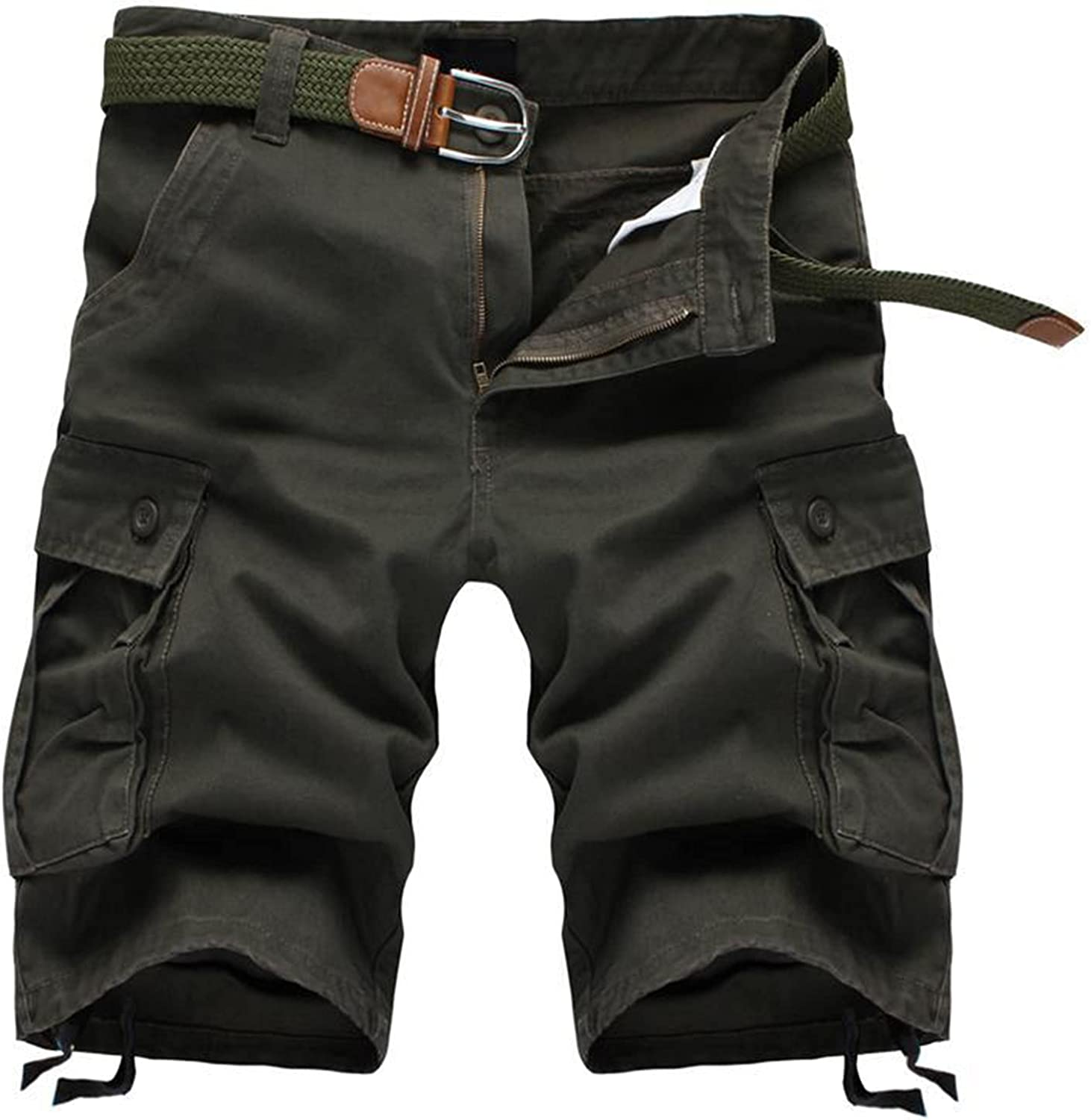 Cargo Shorts for Men with Pockets Big and Tall Outdoor Hiking Shorts Quick Dry Stretch Cargo Short Pants