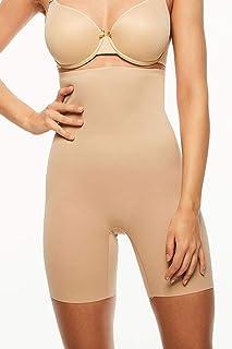 Chantelle Womens 3507 Basic Shaping High Waist Mid-Thigh Shaper Shapewear Briefs
