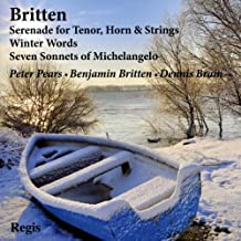 Serenade for Tenor Horn & Strings / Winter Words