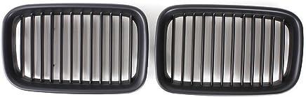 R Grille de voiture Nouveau Grille avant noir mat pour E36 318i // 328//320 // 325i Serie 3 92-96 TOOGOO