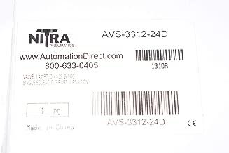 NEW NITRA Pneumatics AVS-3312-24D Solenoid Valve 1.4 NPT 3-Port, 2-Position