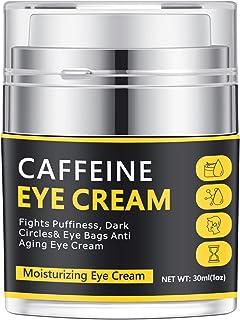کرم چشم کافئین ، کرم دور چشم و پف دور چشم ، کرم زیر چشم برای چین و چروک ، خطوط ظریف ، پف و سیاهی دور چشم ، کرم ضد پیری چشم مردان برای مردان ، 30ml/1 OZ (30ml/1 OZ)
