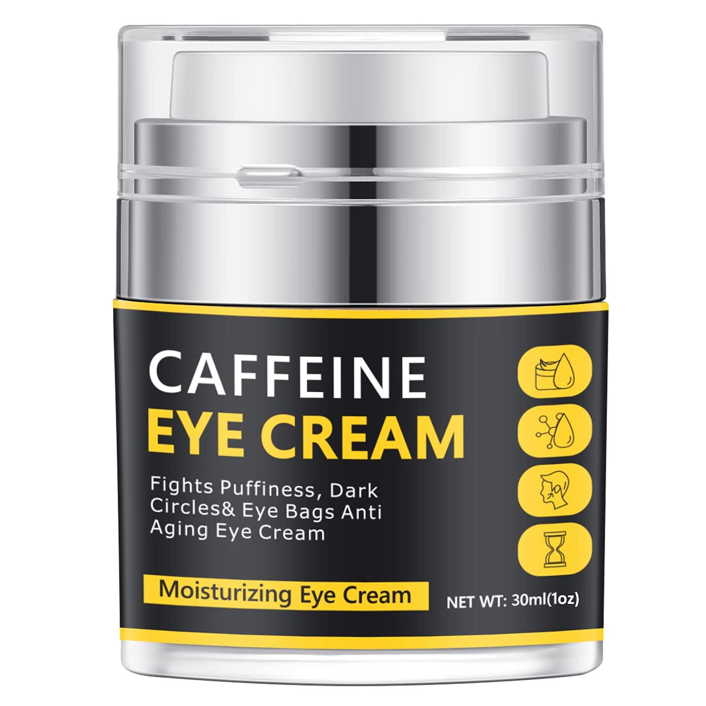 Caffeine Eye Cream,Kinbeau Eye Cream for Dark Circles and Puffiness, Under Eye Cream for wrinkles , Fine Lines,Puffiness and Dark Circle,Eye Cream Anti Aging for Women Men,30ml/1 OZ (30ml/1 OZ)