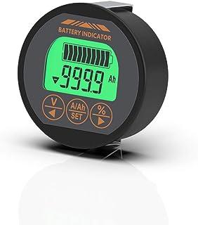 KKmoon バッテリー容量テスター TR16 8-120V 防水 電圧電流 LCDディスプレイ メモリー機能付き 電量計