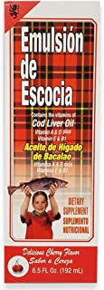 Emulsion De Escocia Cherry 6.5 Oz. Cod Liver Oil