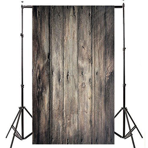 Wooden Wall Backdrops Background for Newborn Baby Portrait Photo Studio Booth Props