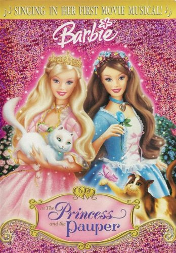 Barbie as the Princess and the Pauper DVD with Bonus Music CD