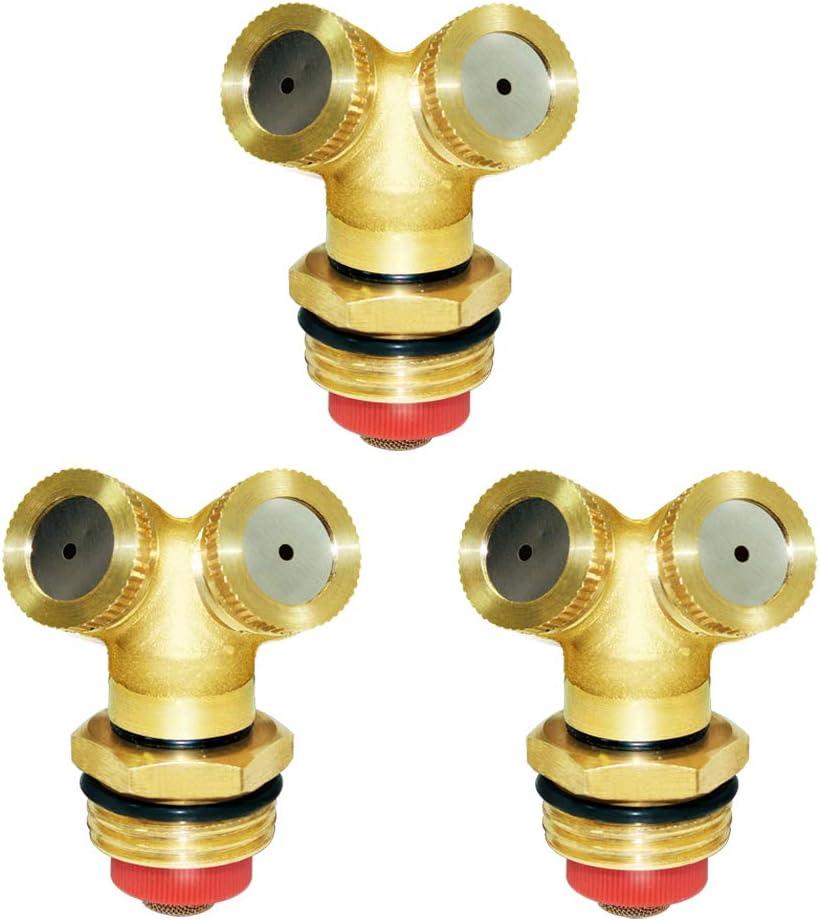 Joywayus Brass Misting Spray Nozzle 1 2