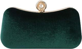 Generic Stylish Women Handbag Evening Party Bridal Clutch Bag Prom Wedding Wallet Purse Green