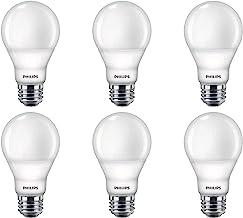 Philips LED 479444 Dimmable A19 Light Bulb with Warm Glow Effect 800-Lumen, 2200-2700 Kelvin, 8.8 Watt, E26 Base, Frosted,...