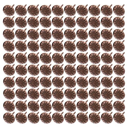 Angoily 300 Piezas de Clavos Pequeños Tachuelas Decorativas para Muebles 0. 4X1! Clavo de Espuma de Sofá Vintage de 6 Pulgadas Adecuado para Tablero de Corcho Sofá Cama