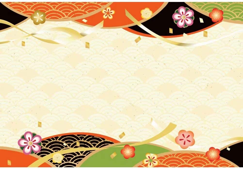 DaShan 14x10ft Japanese Cherry Blossom Backdrop Spring Japan Tradition Flower Birthday Party Decor Photography Background Japan Floral Wedding Party Banner Kids Adult Photo Studio Props