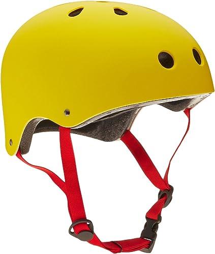 100% a estrenar con calidad original. Krown amarillo amarillo amarillo Carcasa con rojo Correa monopatín Casco, un tamaño  Ahorre 60% de descuento y envío rápido a todo el mundo.