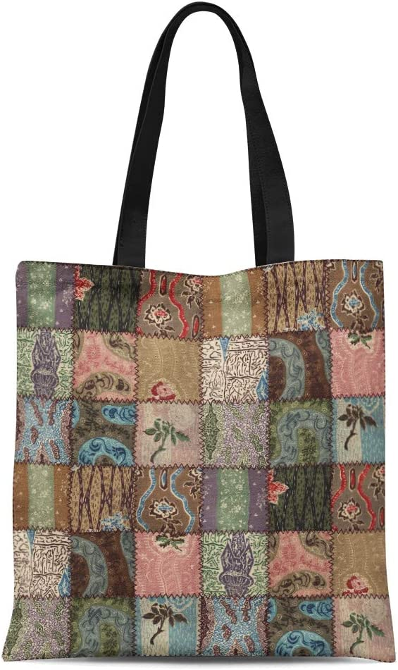 Canvas Tote bag quilt gift gift for quilters Gifts for Quilter reuse shop bag Quilters gift quilt tote Quilters tote Bag