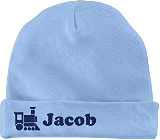 Baby Boy Jacob Train Hat: Infant Baby Hat