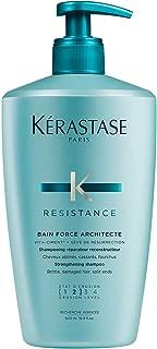 Kerastase Resistance Bain De Force Architecte Reconstructing Shampoo, 16.9 Ounce