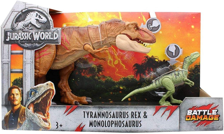Jurassic World 2Fallen Royaume Tyrannosaurus Rex et Monolophosaurus